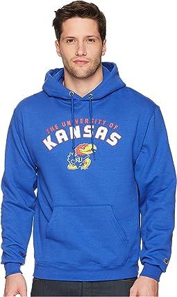 Champion College - Kansas Jayhawks Eco® Powerblend® Hoodie 2