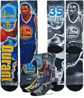 584e29e6c1a Golden State Warriors NBA Drive Crew Socks Size Medium 5-10 - Kevin Durant