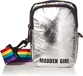 Madden Girl Crossbody, Silver