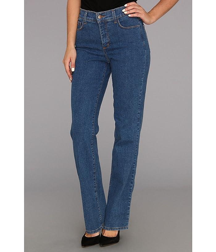 NYDJ Marilyn Straight Leg in Indigo Light (Indigo Light) Women's Jeans
