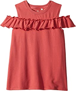 AG Adriano Goldschmied Kids - Newport Cold Shoulder Top (Toddler)