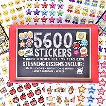 Josephine on Caffeine Teacher Stickers for Kids- Bulk Teacher Supplies Value Pack 5600 Reward Stickers Classroom Supplies School Supplies for Teachers