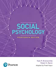 Social Psychology | Fourteenth Edition | By Pearson