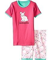 Hatley Kids - Spring Bunnies Short PJ Set (Toddler/Little Kids/Big Kids)