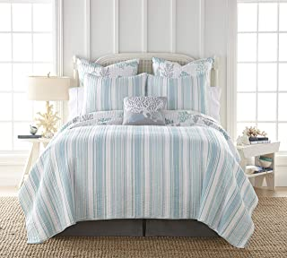 Levtex Home Cape Coral Key King Quilt Set