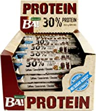 High Protein Coffee Cocoa Kernels and Chocolate 25 bars No sugar added – Rich in high Quality Ingredients with Creatine and Taurine – High whey protein great for after training Estimated Price : £ 22,00