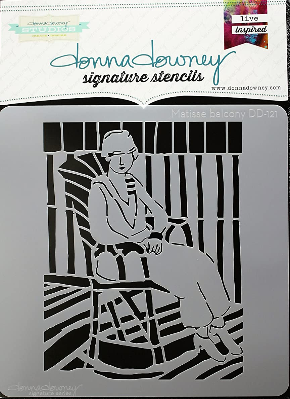 Donna Downey Stencils DD-121 Signature Stencils 8.5