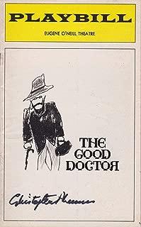 Christopher Plummer signed The Good Doctor Playbill