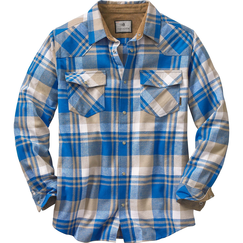 Legendary Whitetails Shotgun Western Flannel
