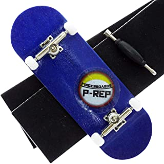 P-REP Tuned Complete Wooden Fingerboard 32mm Dyed (Blue)