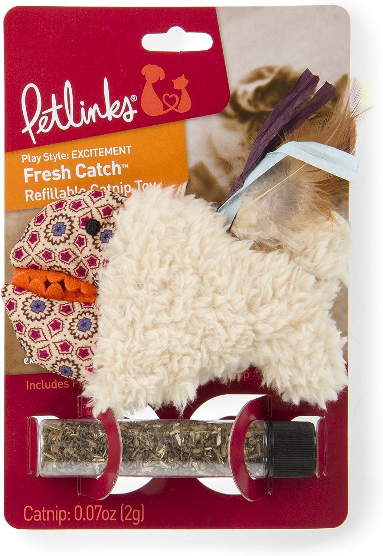 Ranking TOP17 Petlinks Refillable Catnip Cat Toys Fresh Cheap sale Browns Catch 49368