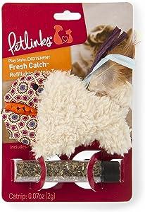 Petlinks Refillable Catnip Cat Toys, Fresh Catch, Browns (49368)