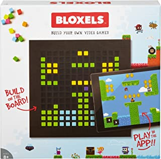 Mattel Bloxels Build Your Own Video Game - Discontinued from Manufacturer, Brown