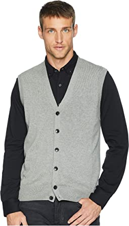 Cotton Modal Knit Sweater Vest