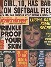 National Examiner 1986 Sep 9 Lucy Ball.Richard Chamberlain,Joan Rivers,Liz
