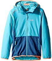 Jack Wolfskin Kids - Turbulence Softshell Jacket (Little Kids/Big Kids)
