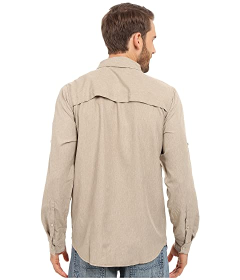 Beige anterior Face Dune manga Heather The cruzada larga Temporada Camisa North de H4qUT