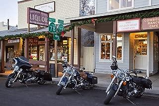 Harley Davidson Gift, Motorcycle Gift For Men, Motorcycle Print, Harley Davidson Decor, Garage Wall Art, Man Gift