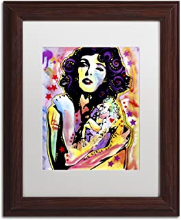Big Girls Don't Cry by Dean Russo, White Matte, Wood Frame 11x14-Inch