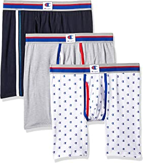 cf8f5085d37c Champion Mens Everyday Comfort Cotton Stretch Boxer Briefs 3-Pack Boxer  Briefs