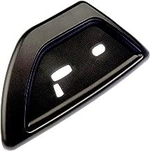 APDTY 035671 Power Seat Switch Panel Trim Black Plastic Fits Driver Front Left 2006-2007 Buick Rainier / 2006-2009 Chevrolet Trailblazer / 2006-2009 GMC Envoy / 2006-2009 Saab 9-7x (Replaces 19121427)
