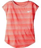 Nike Kids - Stripe Heather Gradient Dri-FIT Tee (Little Kids)