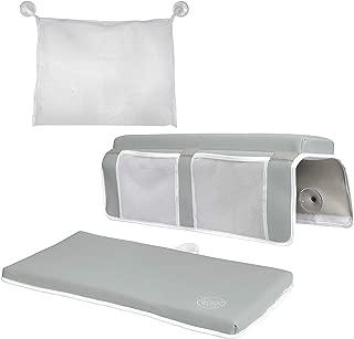 Elbow Rest & Kneeling Pad for Bathtub: Baby Bath Comfort Kneeler & Arm Cushion