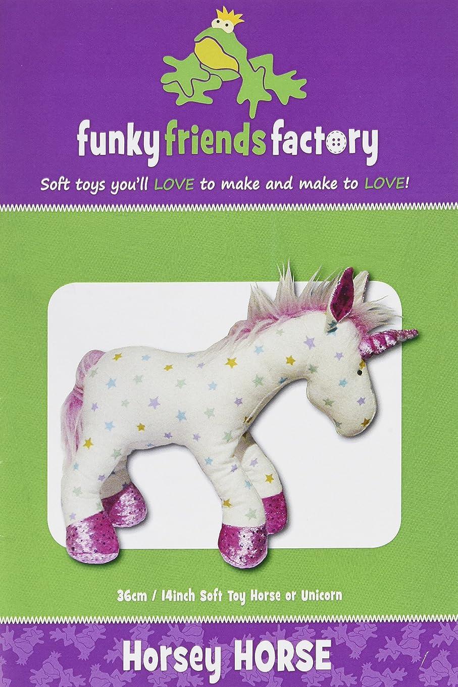 Funky Friends Factory Horsey Horse/Unicorn Pattern