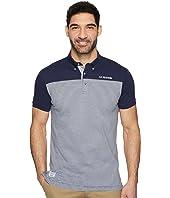U.S. POLO ASSN. - Short Sleeve Slim Fit Fancy Jersey Polo Shirt