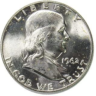 1962 D Silver Franklin Half Dollar 50¢ Brilliant Uncirculated