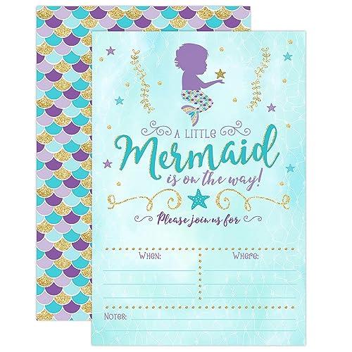 Mermaid Baby Shower Amazoncom