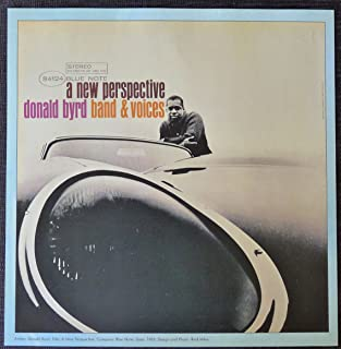 Donald Byrd - A New Perspective - Vintage Album Cover Poster