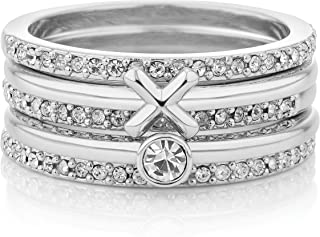Buckley London Women Lumley Stacking Rings M