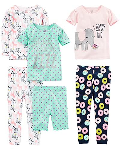 Toddler Footed Pajamas Girls  Amazon.com 2a6d2ec1d