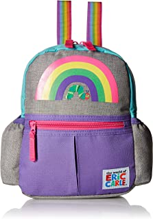 Eric Carle Backpack with Safety Harness Leash, Rainbow, The Very Hungry Caterpillar Child Baby Toddler Travel