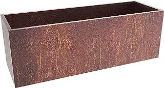 MK Designs Corten Steel Box Planter, 44