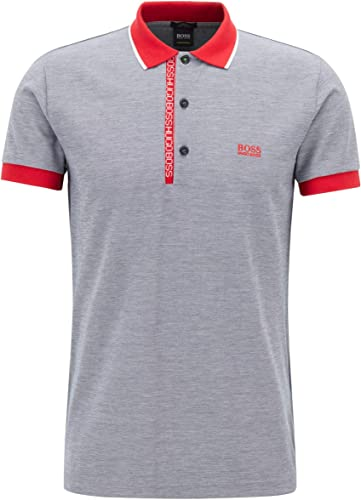 BOSS Grün Herren Poloshirt Paule 4