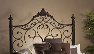 Hillsdale Furniture Baremore Headboard and frame, Queen, Antique Brown