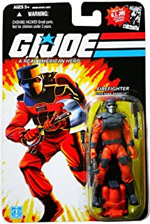 G.I. Joe 25th Anniversary Comic Series Cardback: Barbecue (Firefighter) 3.75 Inch Action Figure