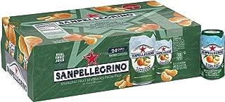 Sanpellegrino Clementine Sparkling Fruit Beverage, 11.15 Fl. Oz Cans (24 Pack)