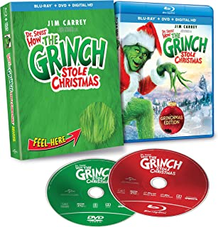Dr Seuss' How the Grinch Stole Christmas [Blu-ray] [Import]