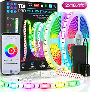 TBI Pro LED Strip Lights 32.8ft - Outdoor RGB Led Strip...