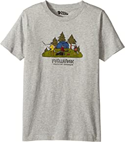 Camping Foxes T-Shirt (Toddler/Little Kids/Big Kids)
