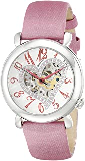 Stuhrling Women's Beige Dial Leather Band Watch - 109SW.1215A2