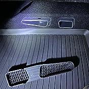 Lfotpp Auto Air Vent Abdeckung Für Kamiq Scala Rücksitz Klimaanlage Outlet Cover 2 Stück Auto
