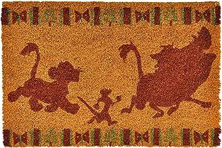 Pyramid Lion King Disney Felpudo Hakuna Matata 60x40x1.5cm Coco Amarillo Rojo