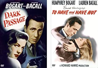 Humphrey Bogart - Dark Passage - To Have and Have Not - DVD PACK