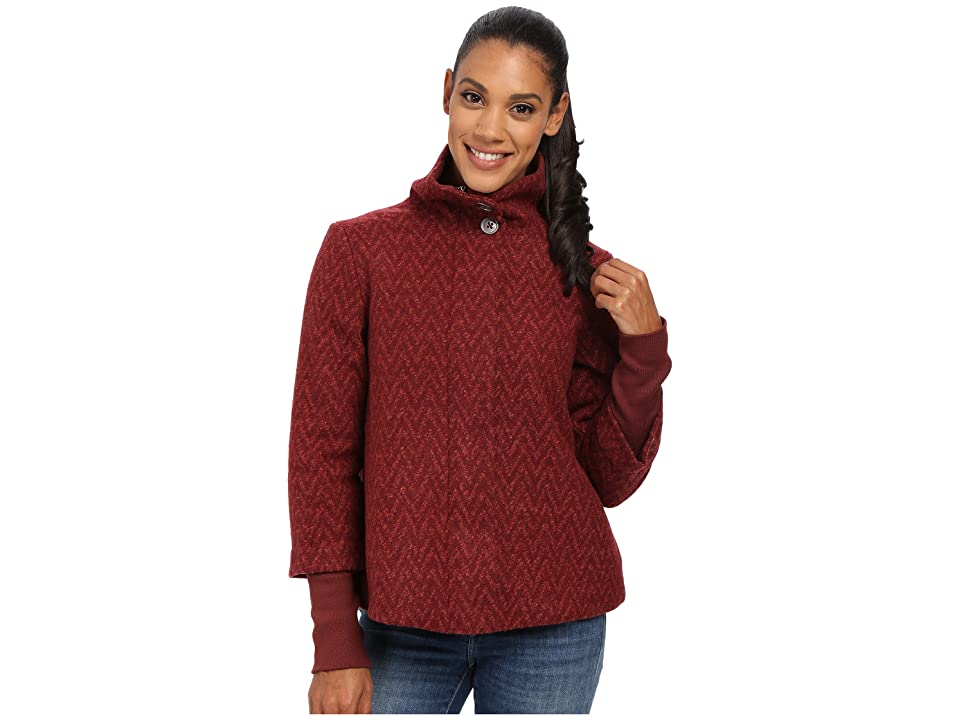 Prana Lily Jacket (Raisin) Women