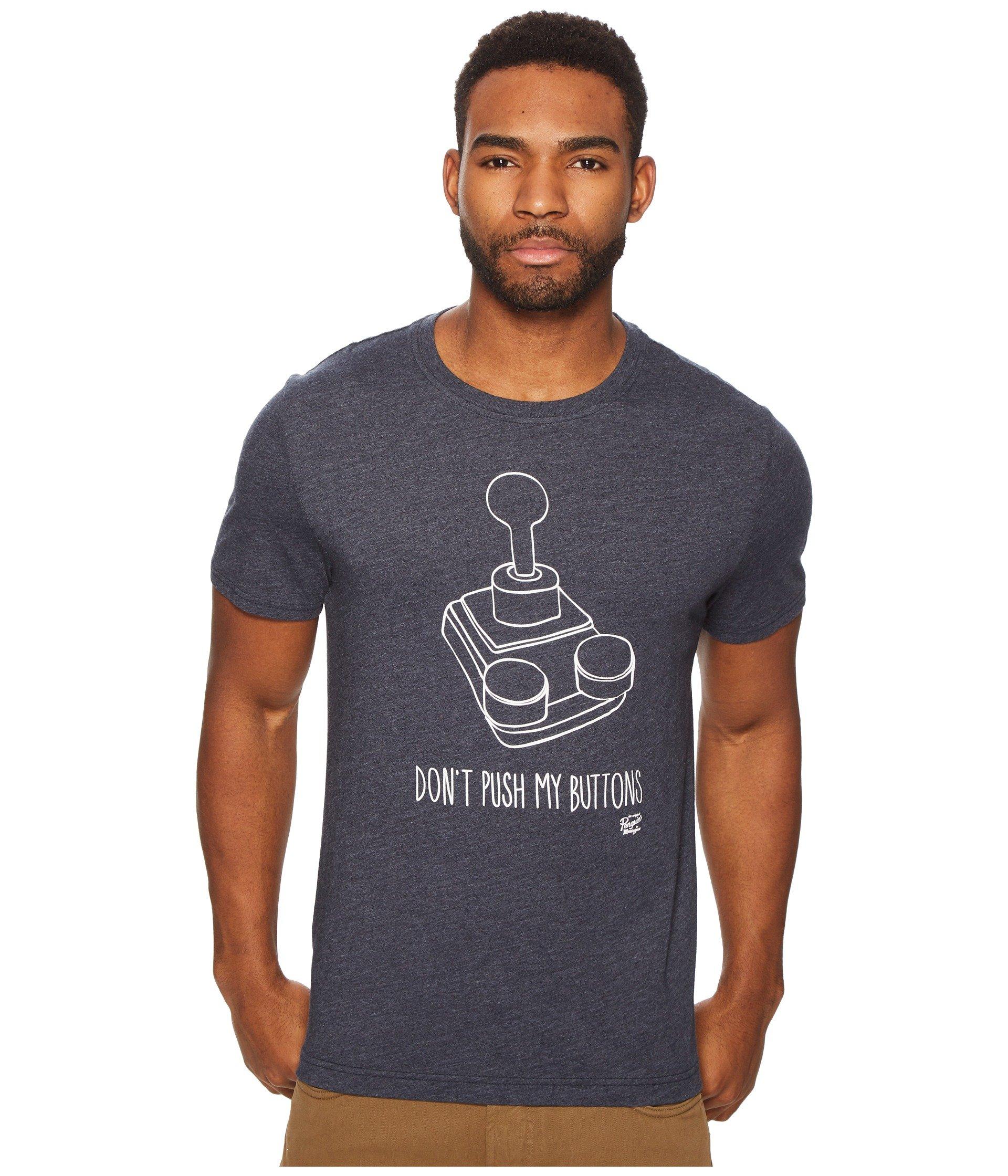 Camiseta para Hombre Original Penguin Donand#39;t Push My Buttons Tee  + Original Penguin en VeoyCompro.net