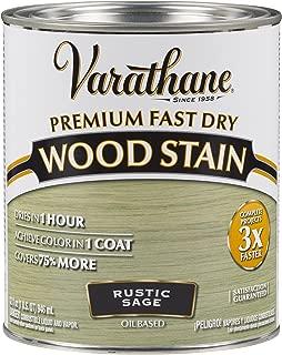 Varathane 297426 Premium Fast Dry Wood Stain, 32 oz, Rustic Sage